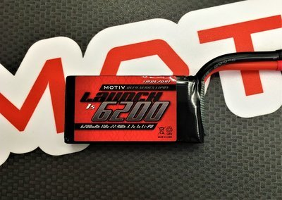 Motiv  Launch 1s  6200mah Drag Racing Edition