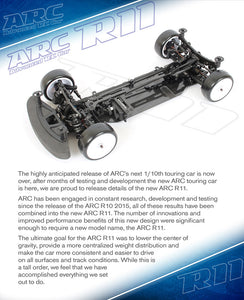 ARC11 version 2017 Chassis Kit