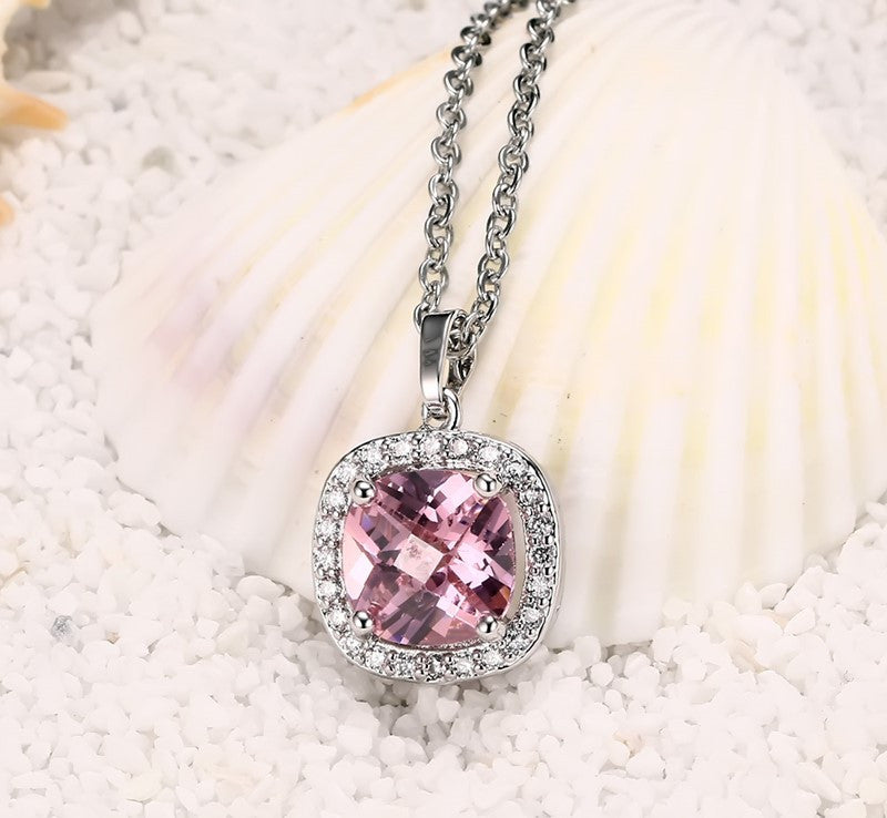 jewelry love pink star fox crystal pendant supermall red club yuanyuan virtues friendship man necklace flames