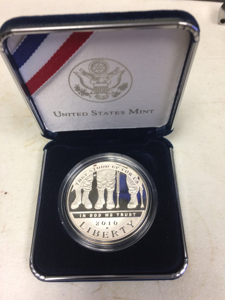 2010 Disabled Veterans Silver commemorative