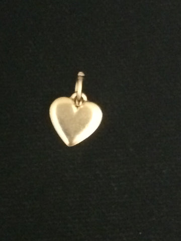 James Avery 14k Gold Mini Heart Charm