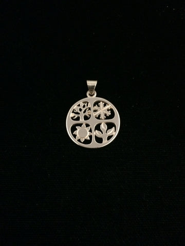 James Avery 14k Gold Four Seasons Pendant