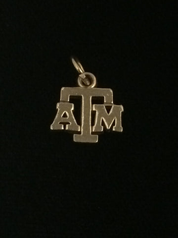 James Avery 14k Gold Texas A&M Charm
