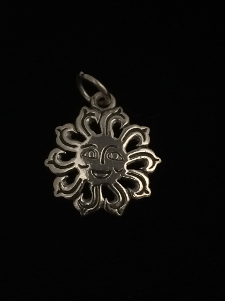 James Avery Sterling Silver Sun Face Charm