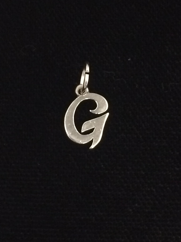 "James Avery Sterling Silver ""G"" Charm"