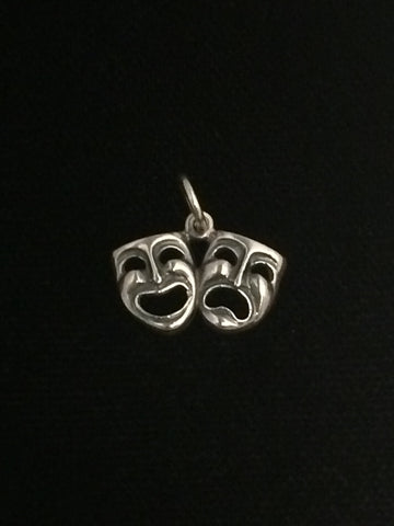James Avery Sterling Silver Theatrical Charm