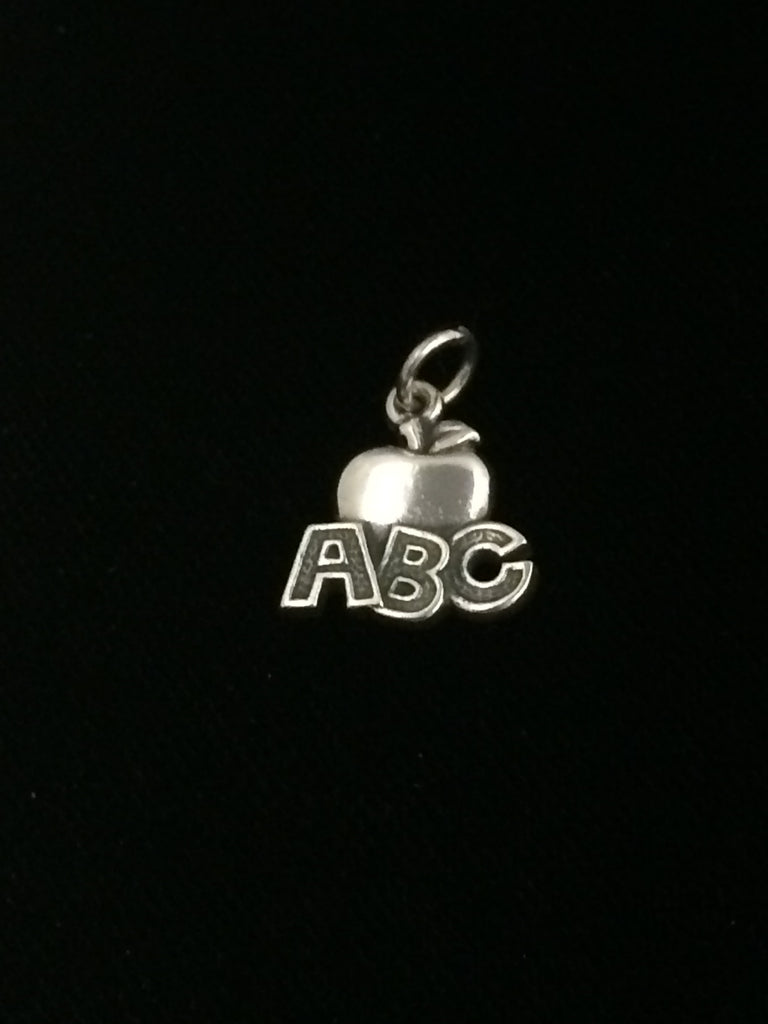 James Avery Sterling Silver ABC Apple Charm