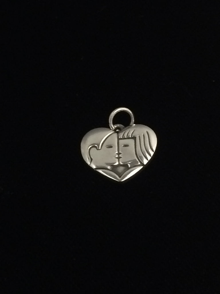 James Avery Sterling Silver The Kiss Charm