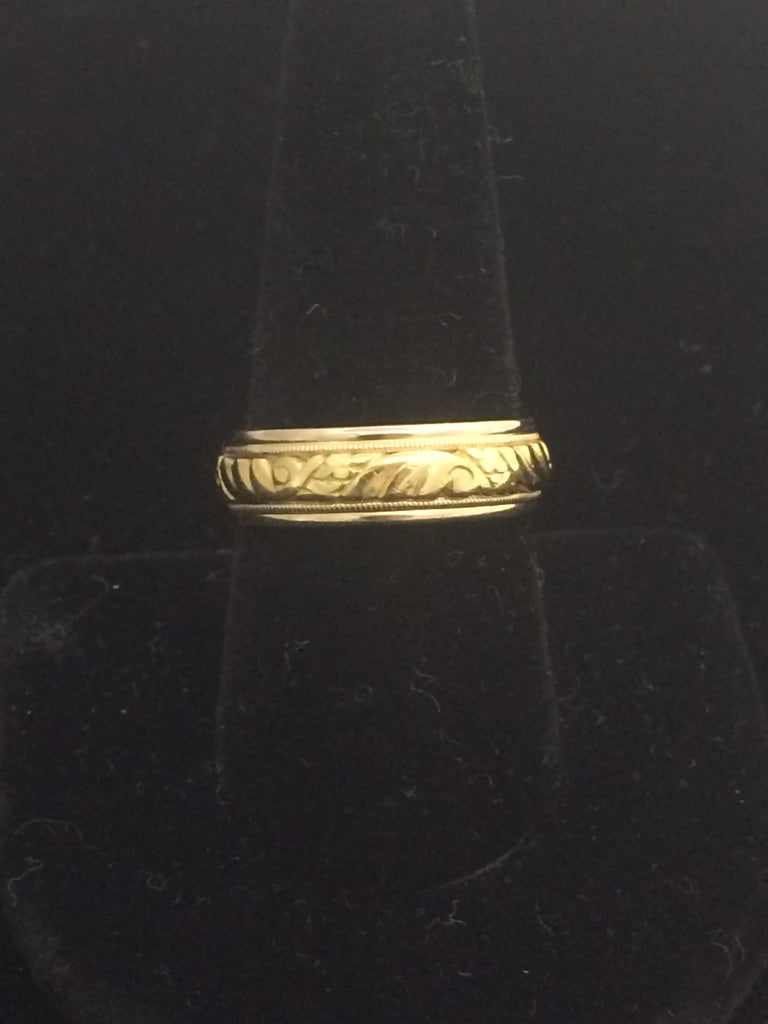 18k Gold Diana Wedding Band