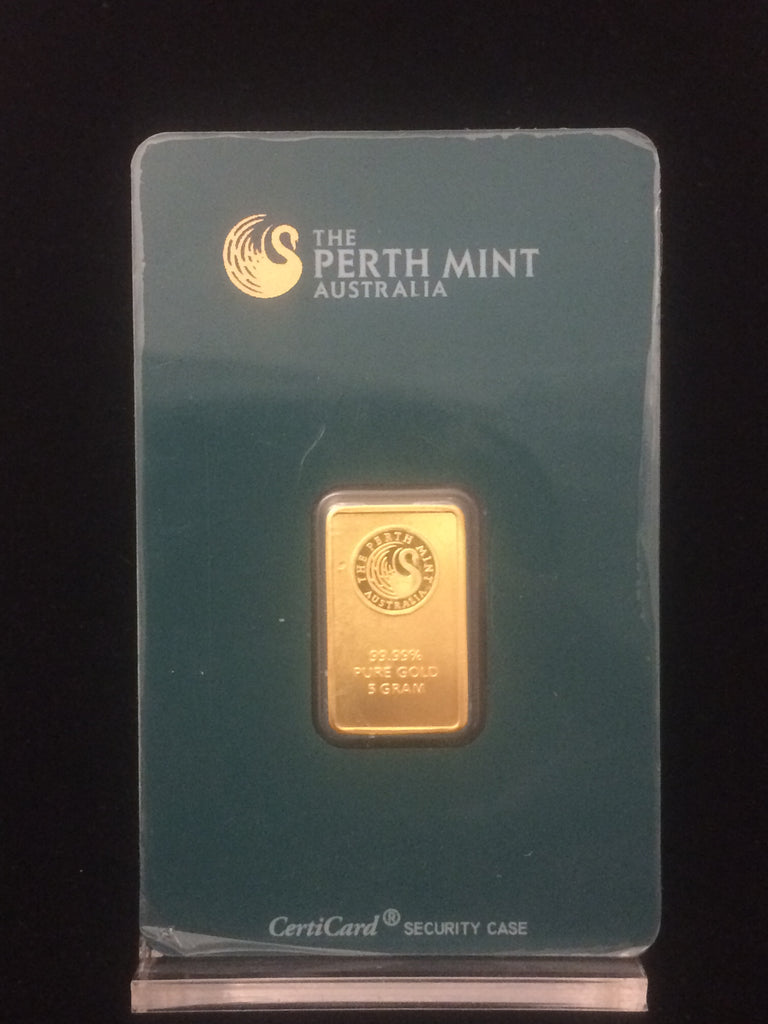 5g Gold Bar - Perth Mint (In Assay)