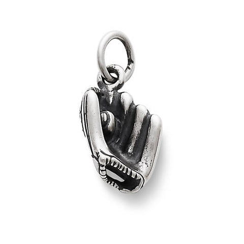 James Avery Sterling Silver Baseball & Glove Charm