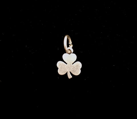 James Avery Sterling Silver Three Leaf Clover Charm (Retired)
