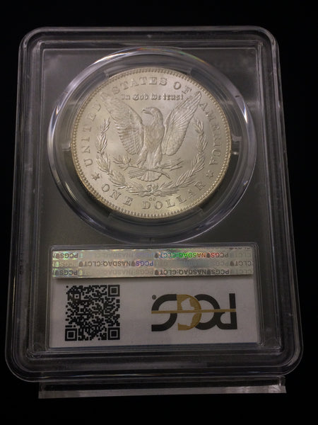 1880/1879-CC Reverse of 1878 U.S. $1 Morgan Dollar PCGS MS63