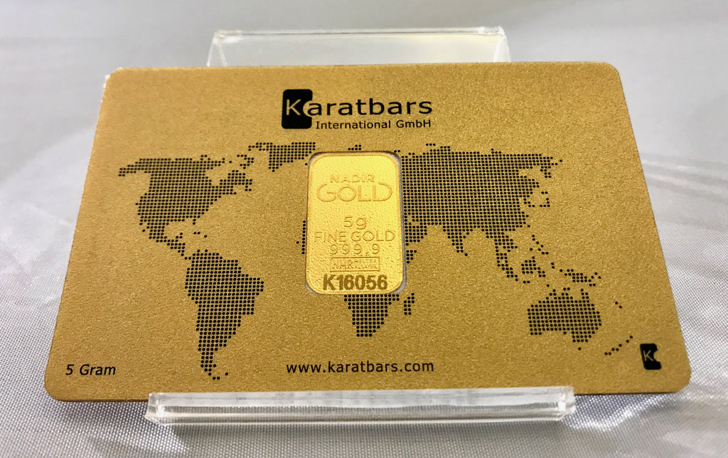 5g Gold Bar - Karatbars (In Assay)