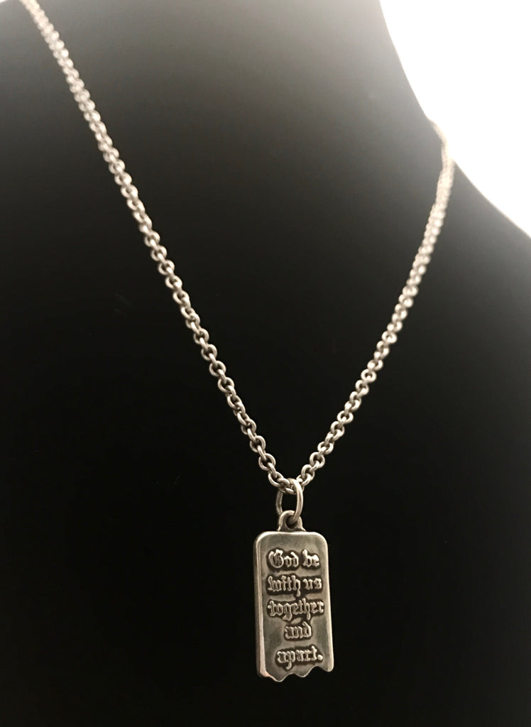 James avery sterling silver mizpah pendant and necklace texas coin james avery sterling silver mizpah pendant and necklace aloadofball Choice Image