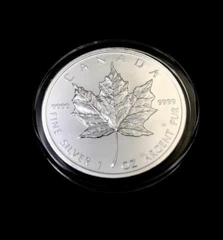 1ozt Canadian Silver Maple Leaf