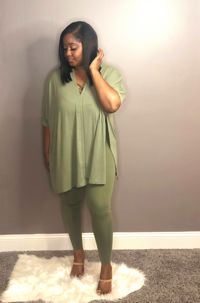 Luxe Life Set - Olive