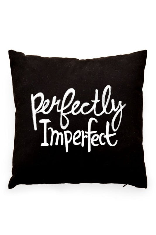 Perfectly Imperfect Pillow