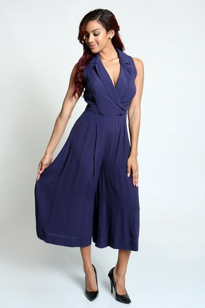Cover Girl Culottes Jumpsuit