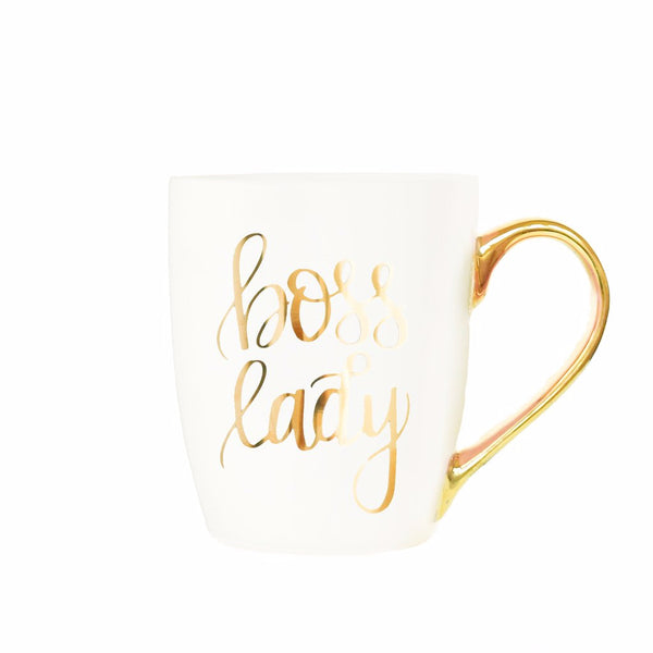 Boss Lady 24K Latte Mug
