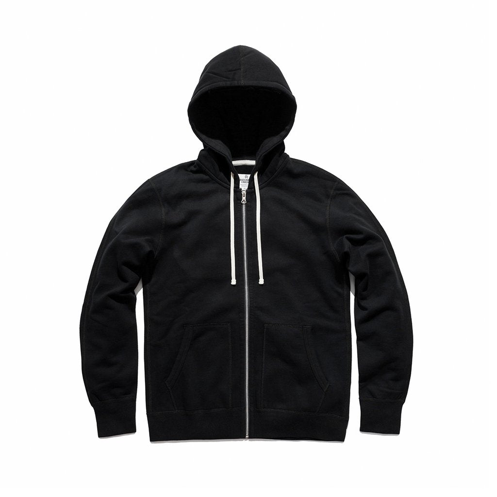 Full Zip Hoodie - Black (Core)