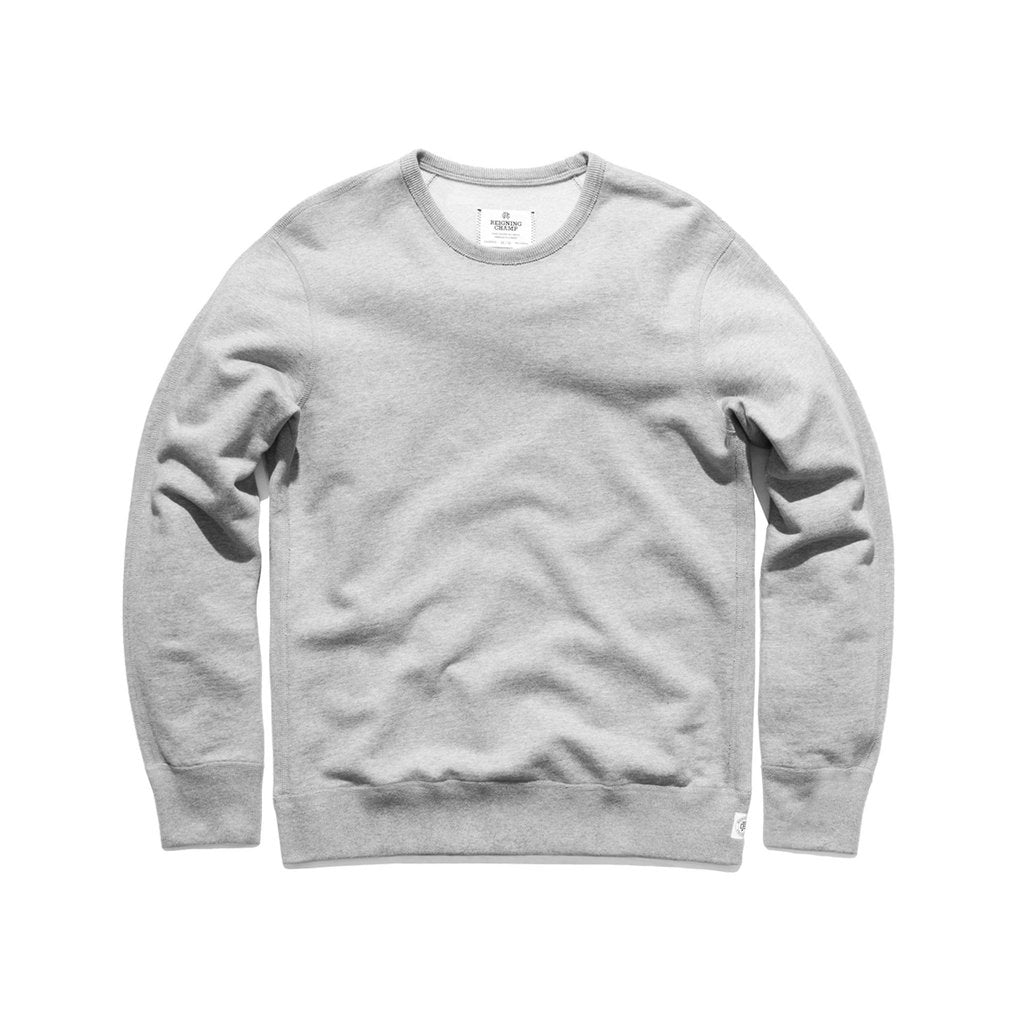 CREWNECK- Heather Grey (Core)