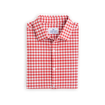 Standard Fit Hatteras Red Check Long Sleeve Shirt