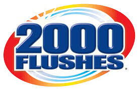 2000 Flushes $.55/1 automatic toilet bowl cleaner (12/16) SS 9/16