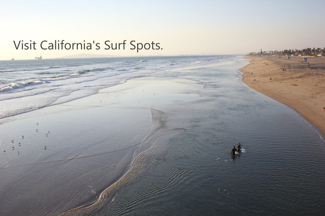 Surf Southern California legendary surf spots with our experienced instructors as your surf tour guide. Leave your equipment at home and leave everything to us at Caliblu.