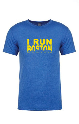 Men's I RUN Boston Tee