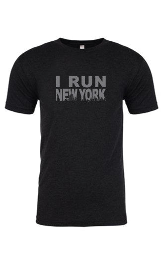 Men's I RUN New York Tee