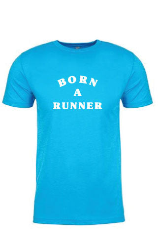 Men's Born A Runner Tee