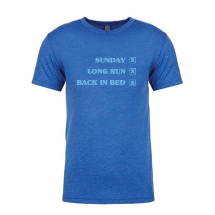 Men's Sunday, Long Run, Rest Tee
