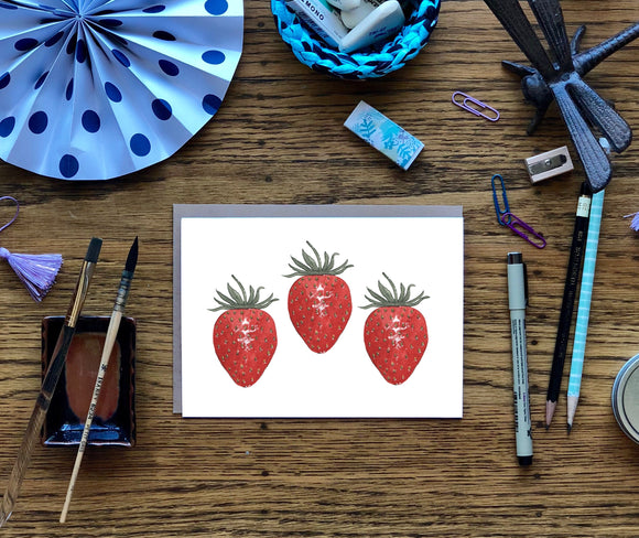 Fruit & Vegetable Note Cards