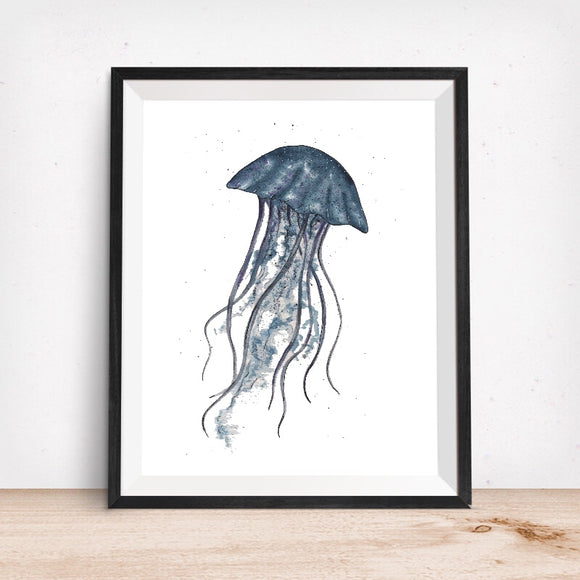Sealife Series, Jellyfish- Art Print