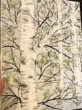 4/5 Day 18 $18 Birch Trees - Close up 8.5 x 11 Original Watercolor Painting
