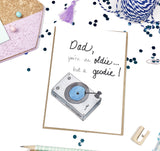 Oldie but Goodie, Father's Day- A2 Greeting Card