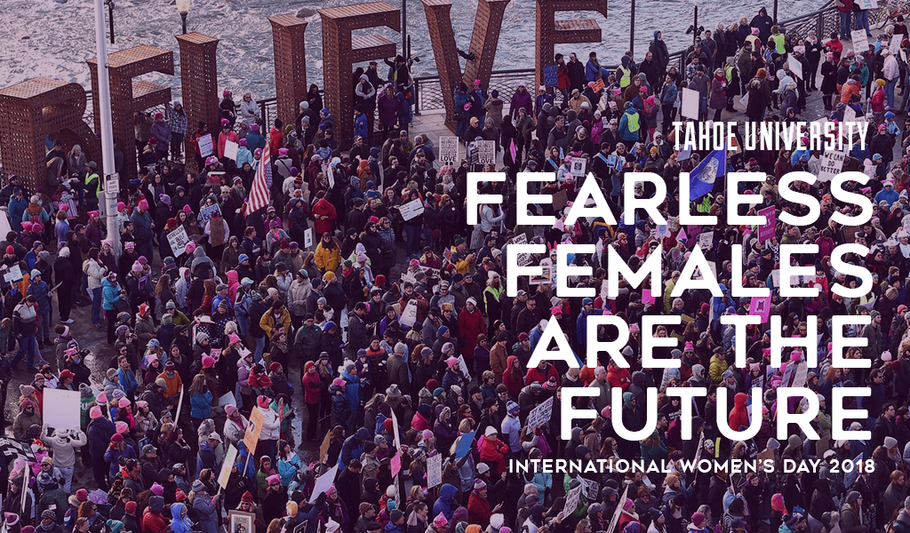Fearless females are the future 🏃‍♀️