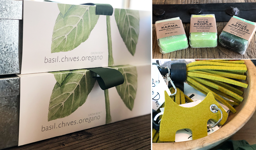 Green gifts at Tahoe University boutique shop