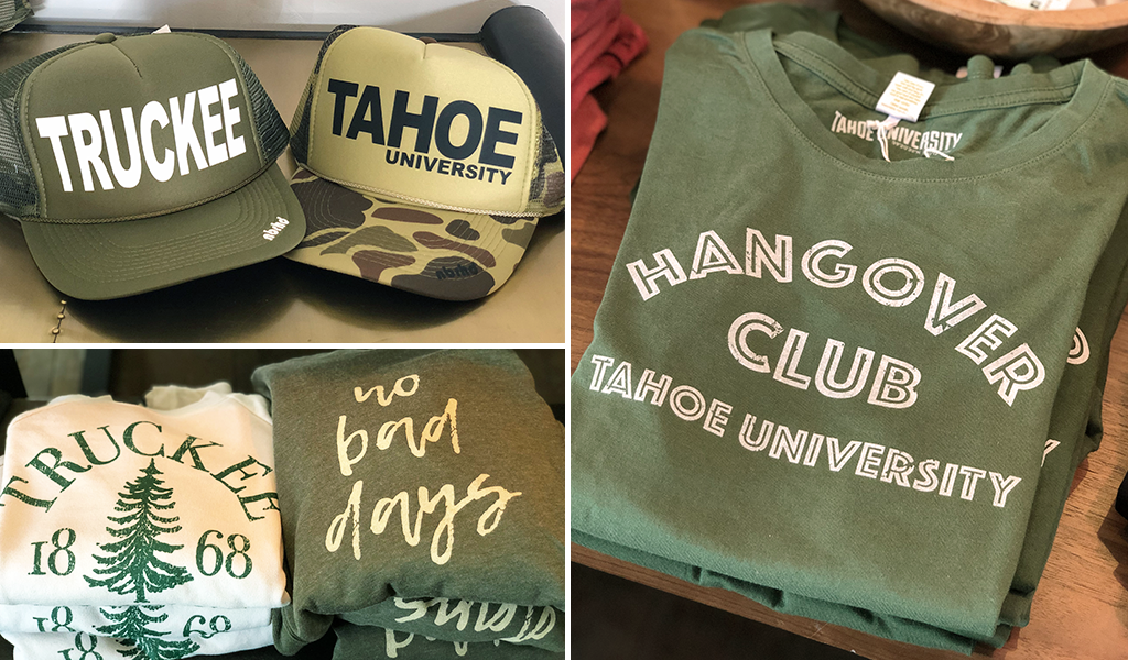 Image: Tahoe U Original t-shirts, sweatshirts and hats at Tahoe University shop