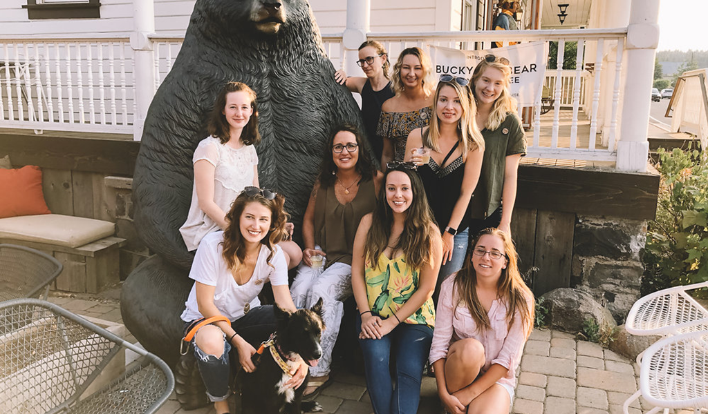 Women Who Explore visit Tahoe University