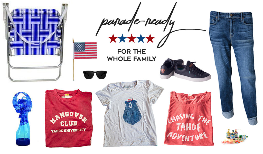 Parade ready for the whole family Tahoe t-shirts for 4th of July Jeans on sale 50% Off