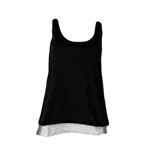 Double Layer Tank (Black)