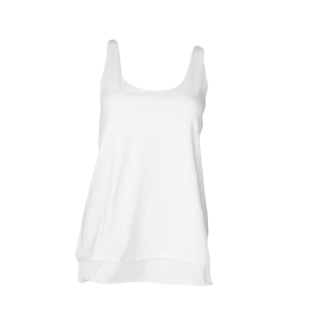 Double Layer Tank (White)