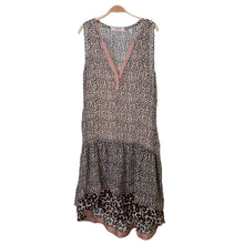Sleeveless Leopard Mixed Print Dress by Scotch & Soda