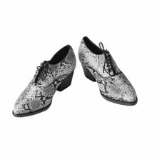 Cordero, Grey, Kale Laceup Oxford, Women's Shoes