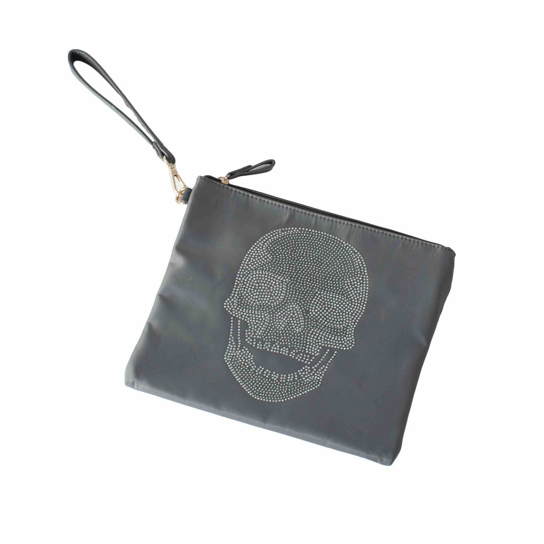 Skull Pouch Clutch