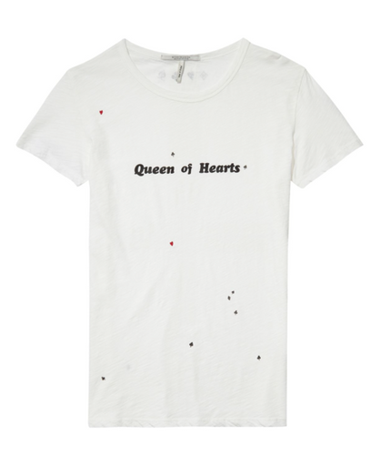 Scotch & Soda Queen of Hearts tee