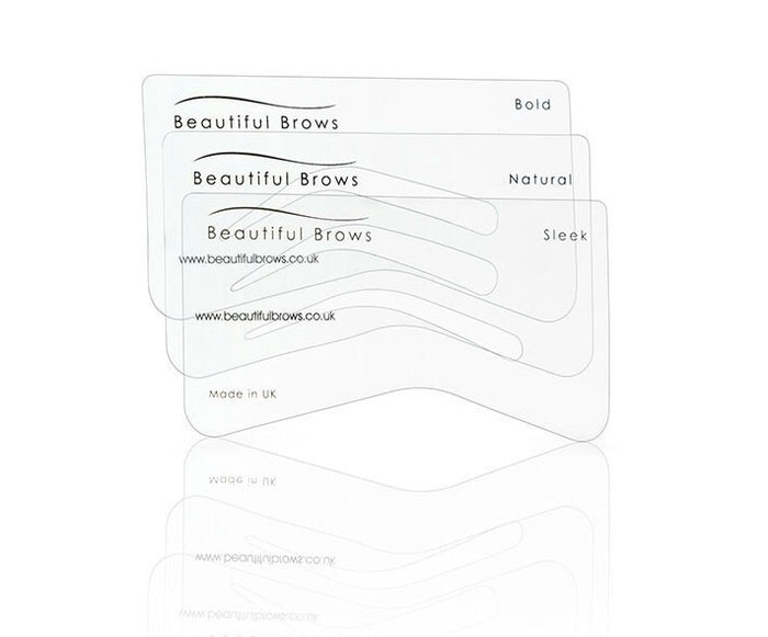 Beautiful Brows Eyebrow Stencil Kit x6