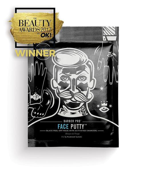 Barber Pro - FACE PUTTY Peel-Off Mask with Activated Charcoal